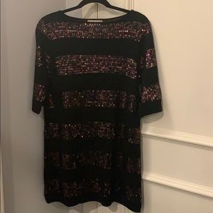 Nanette Lepore Sequin/Wool Sweater Dress Size S